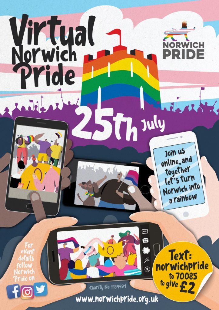 Virtual Norwich Pride